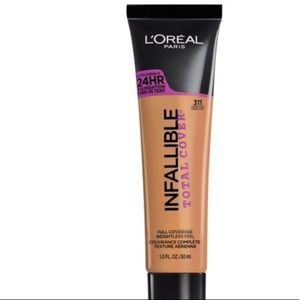5/$25 L'Oréal Total Cover Foundation Caramel Beige